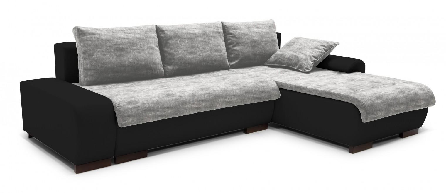 Rohová sedací souprava Florenz - roh pravý (soft 11, korpus/gonzales 2901, sedák)