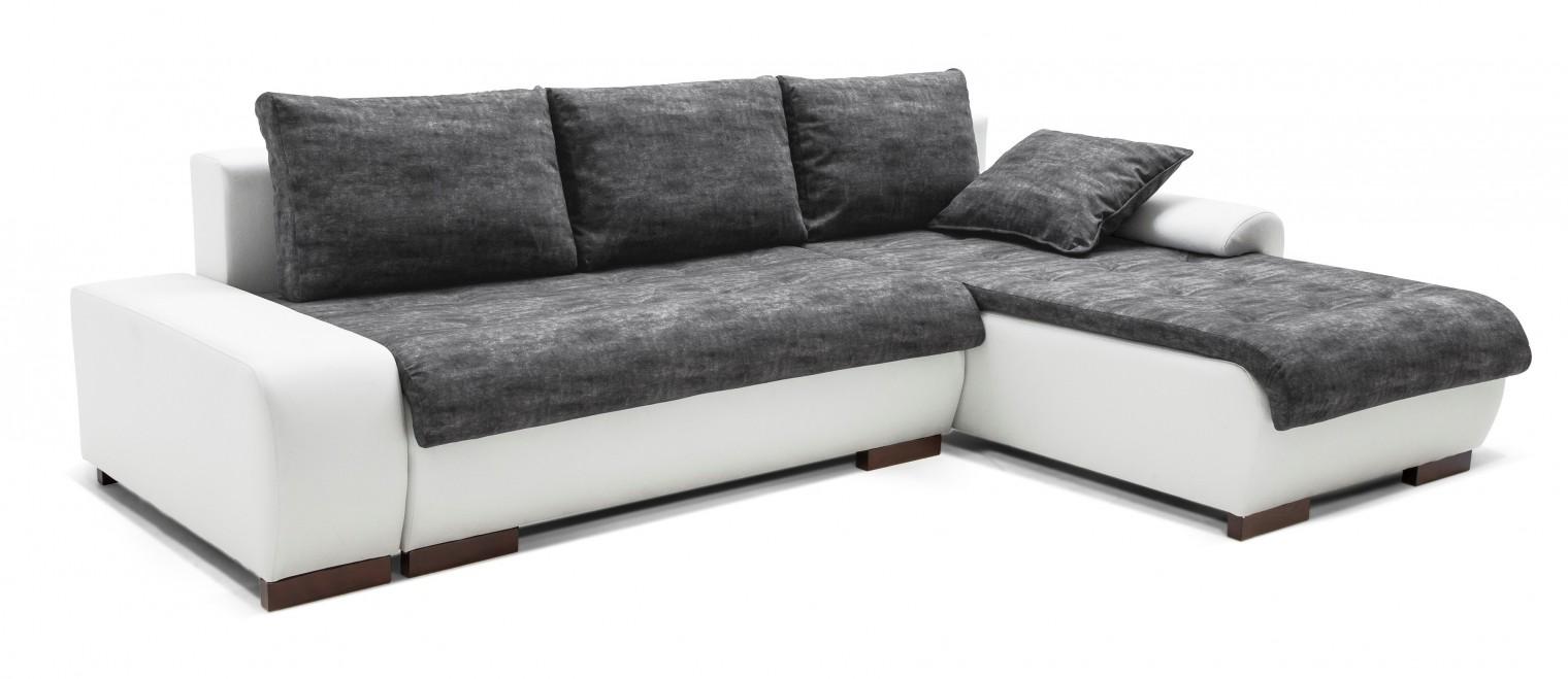 Rohová sedací souprava Florenz - roh pravý (soft 17, korpus/balaton 95, sedák)