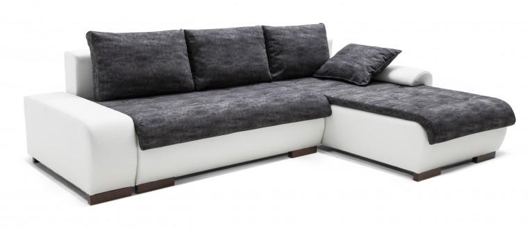 Rohová sedací souprava Florenz - roh pravý (soft 17, korpus/gonzales 2909, sedák)
