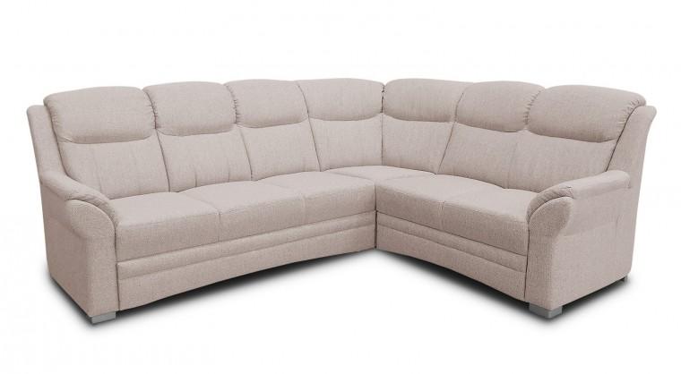 Rohová sedací souprava Helga - Sedací souprava pravá, rozkládací, úložný prostor (RK01)