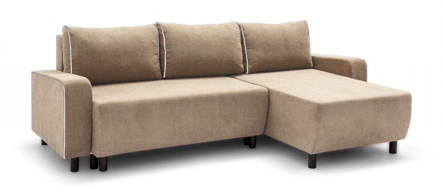 Rohová sedací souprava Island - roh univerzální (soro 23, sedák/soft 17, paspule)