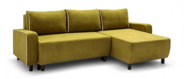 Rohová sedací souprava Island - roh univerzální (soro 40, sedák/soft 17, paspule)