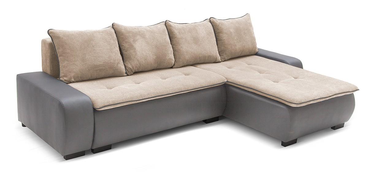 Rohová sedací souprava Karl - roh univerzální (cayenne 1118, korpus/dot 22, sedák)
