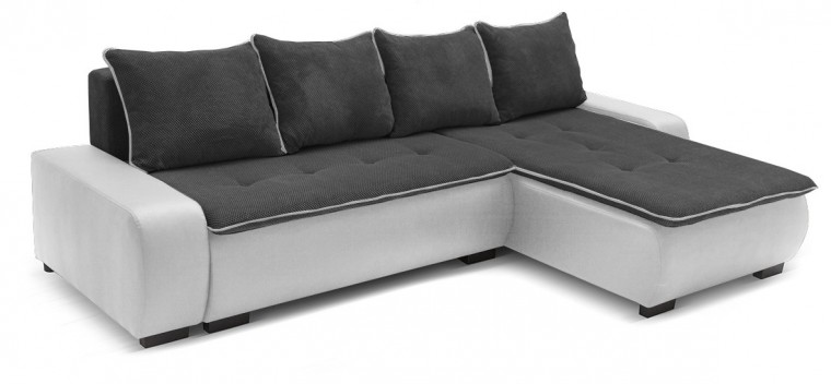Rohová sedací souprava Karl - roh univerzální (soft 17, korpus/gonzales 2909, sedák)