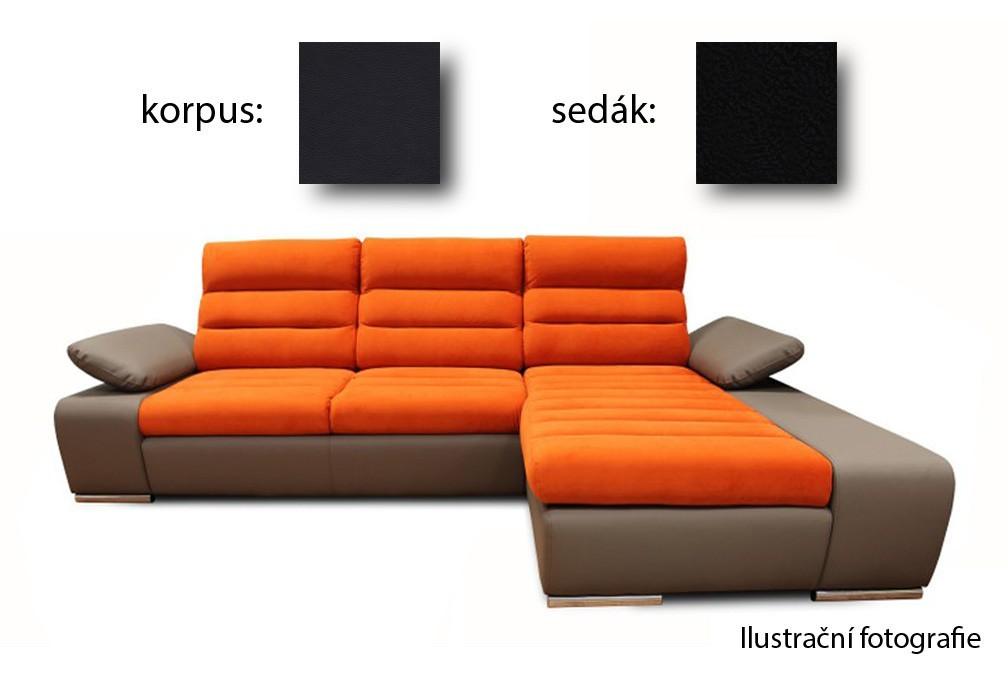 Rohová sedací souprava Korfu - pravý roh (soft 11 / aruba 19)
