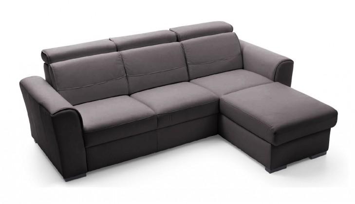 Rohová sedací souprava Lazio - roh pravý (potah - kůže)