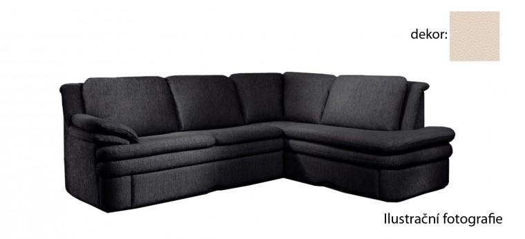 Rohová sedací souprava Ostia - pravý roh (excellent - bisquit H351, sk. BF)