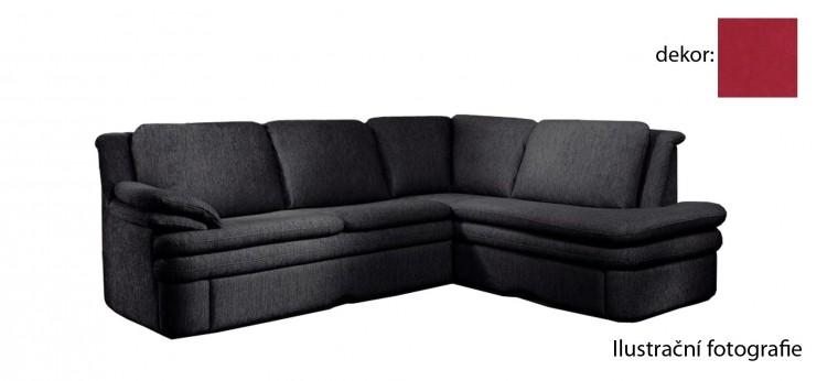 Rohová sedací souprava Ostia - pravý roh (new lucca  - berry P703, sk. E1)