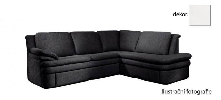 Rohová sedací souprava Ostia - pravý roh (pulse - white D200, sk. R1)