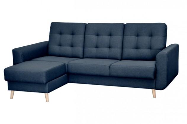 Rohová sedací souprava Rohová sedačka rozkládací Avanti levý roh ÚP modrá
