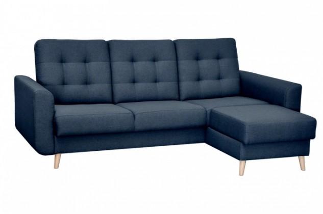 Rohová sedací souprava Rohová sedačka rozkládací Avanti pravý roh ÚP modrá