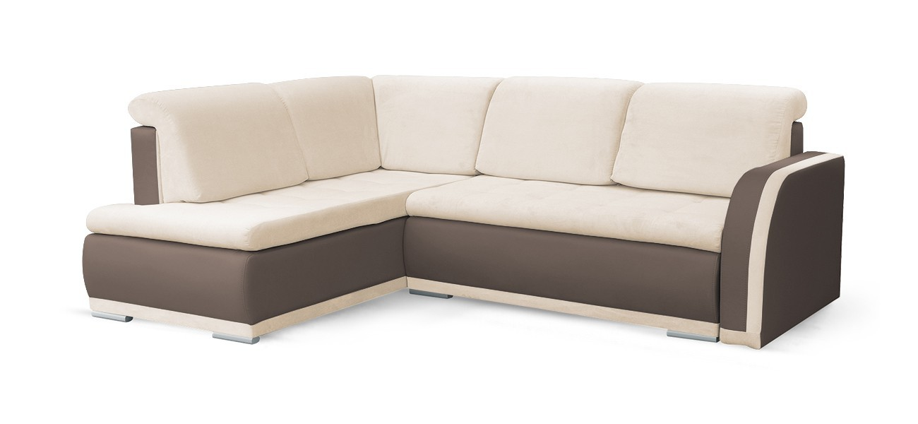 Rohová sedací souprava Rohová sedačka rozkládací Erik levý roh (korpus - cayenne 1122)