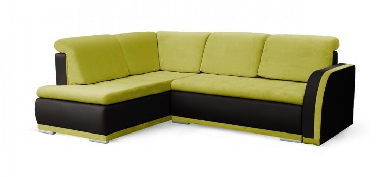 Rohová sedací souprava Rohová sedačka rozkládací Erik levý roh (korpus - soft 11)