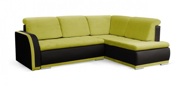 Rohová sedací souprava Rohová sedačka rozkládací Erik pravý roh (korpus - soft 11)
