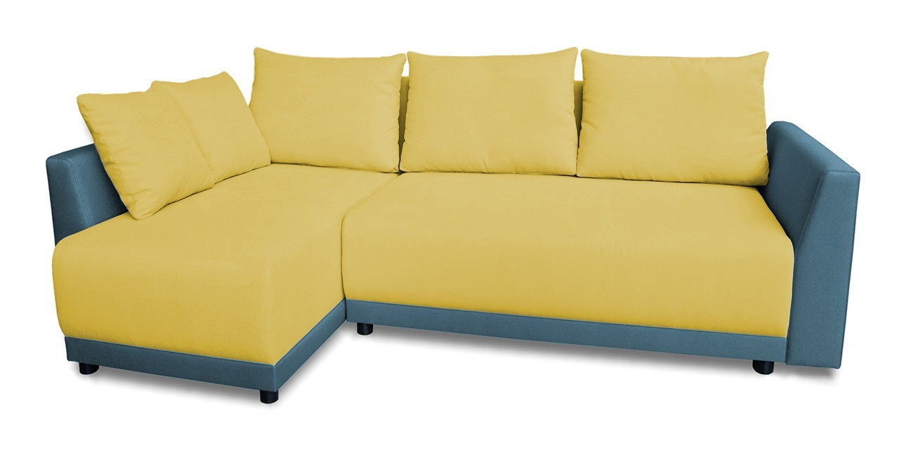 Rohová sedací souprava Rohová sedačka rozkládací Fiesta univerzální roh (bella 8)