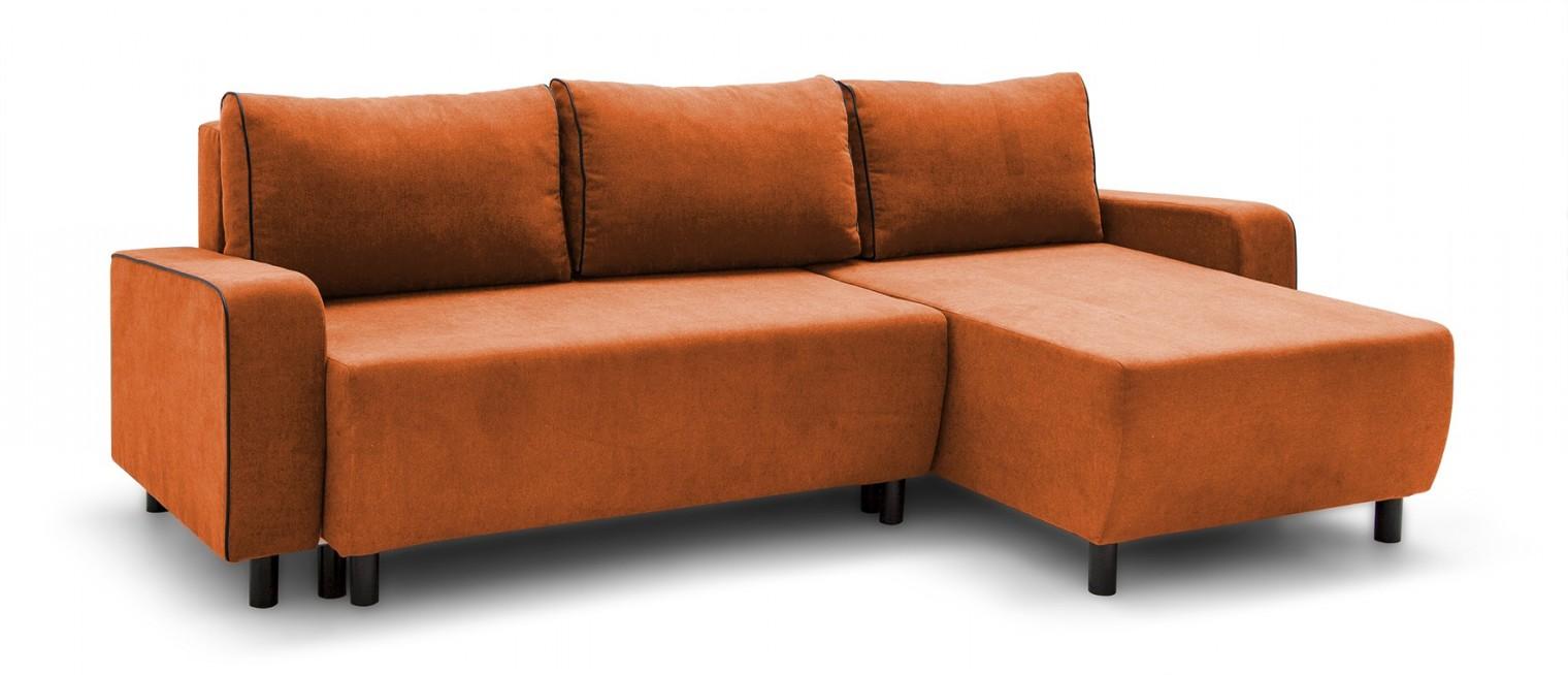 Rohová sedací souprava Rohová sedačka rozkládací Island univerzální roh (sedák-soro51)