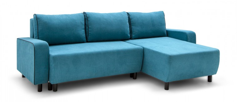 Rohová sedací souprava Rohová sedačka rozkládací Island univerzální roh (sedák-soro86)