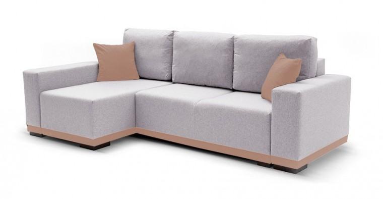 Rohová sedací souprava Rohová sedačka rozkládací Ivo levý roh (potah - baku 1,látka)