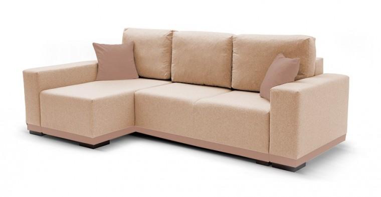 Rohová sedací souprava Rohová sedačka rozkládací Ivo levý roh (potah - trinity4,látka)