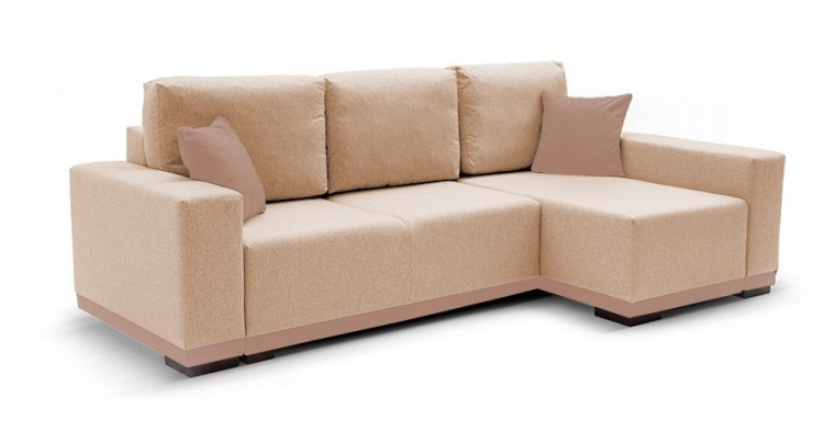 Rohová sedací souprava Rohová sedačka rozkládací Ivo pravý roh (potah-trinity 4,látka)