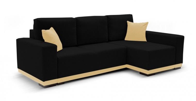Rohová sedací souprava Rohová sedačka rozkládací Ivo pravý roh (potah-trinity16,látka)