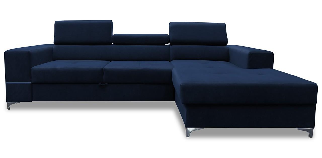 Rohová sedací souprava Rohová sedačka rozkládací Jopp pravý roh (kůže)