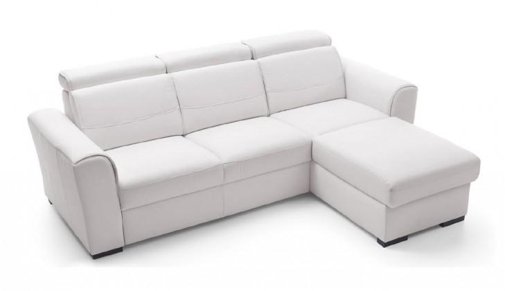 Rohová sedací souprava Rohová sedačka rozkládací Lazio pravý roh (eko kůže)