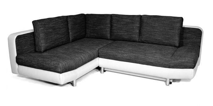 Rohová sedací souprava Rohová sedačka rozkládací Look levý roh (soft 17/balaton 95)