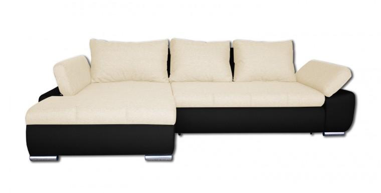 Rohová sedací souprava Rohová sedačka rozkládací Loona levý roh (korpus-madryt 1100)