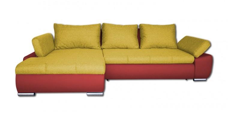 Rohová sedací souprava Rohová sedačka rozkládací Loona levý roh (korpus-madryt 160)