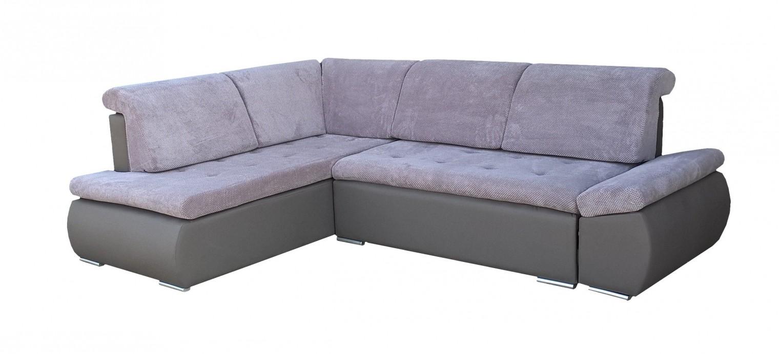 Rohová sedací souprava Rohová sedačka rozkládací Marco levý roh (korpus - cayenne 1118)