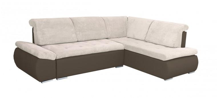 Rohová sedací souprava Rohová sedačka rozkládací Marco pravý roh (korpus - cayenne 1122)