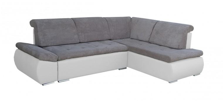 Rohová sedací souprava Rohová sedačka rozkládací Marco pravý roh (korpus - soft 17)