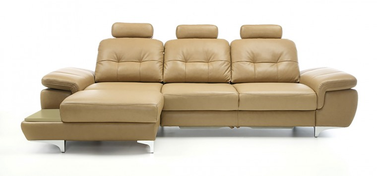 Rohová sedací souprava Rohová sedačka rozkládací Move levý roh, 3xP (dub/látka)