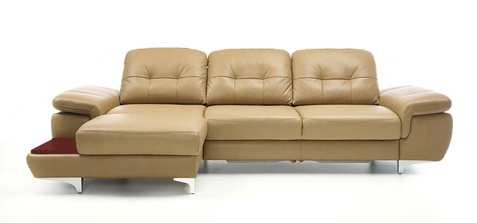 Rohová sedací souprava Rohová sedačka rozkládací Move levý roh (mahagon/látka)