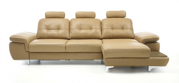 Rohová sedací souprava Rohová sedačka rozkládací Move pravý roh, 3xP (dub/látka)