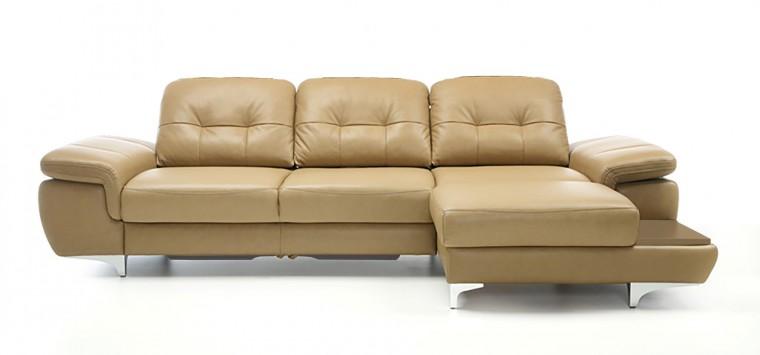 Rohová sedací souprava Rohová sedačka rozkládací Move pravý roh (dub/látka)