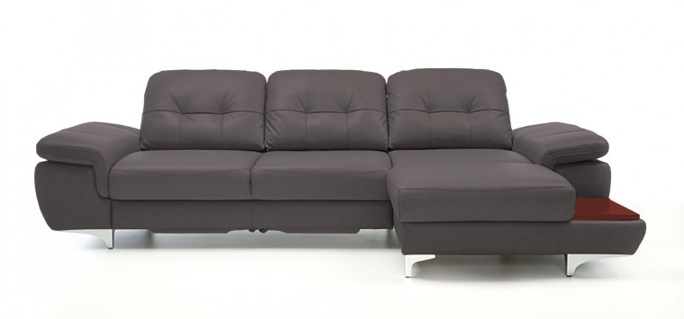 Rohová sedací souprava Rohová sedačka rozkládací Move pravý roh (mahagon/eko kůže)