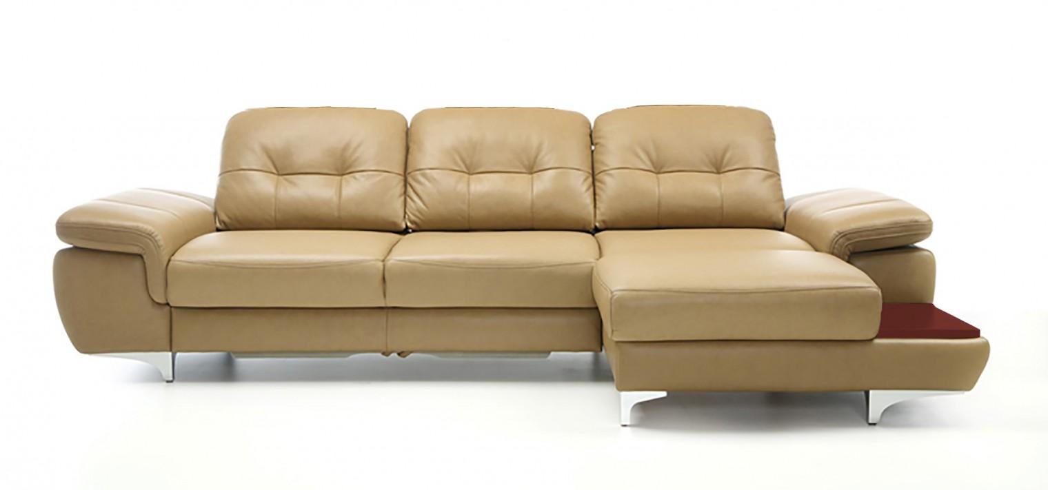 Rohová sedací souprava Rohová sedačka rozkládací Move pravý roh (mahagon/látka)