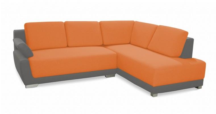 Rohová sedací souprava Rohová sedačka rozkládací Rapid pravý roh (korpus-bella 14)