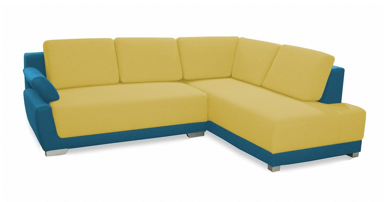 Rohová sedací souprava Rohová sedačka rozkládací Rapid pravý roh (korpus-bella 8)