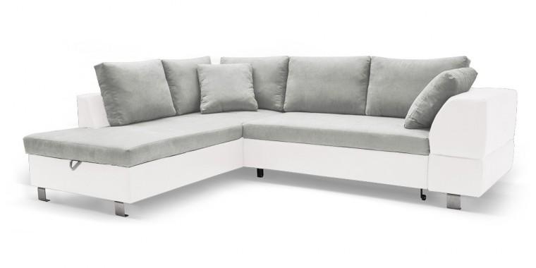 Rohová sedací souprava Rohová sedačka rozkládací Ravenna levý roh (korpus - soft 17)