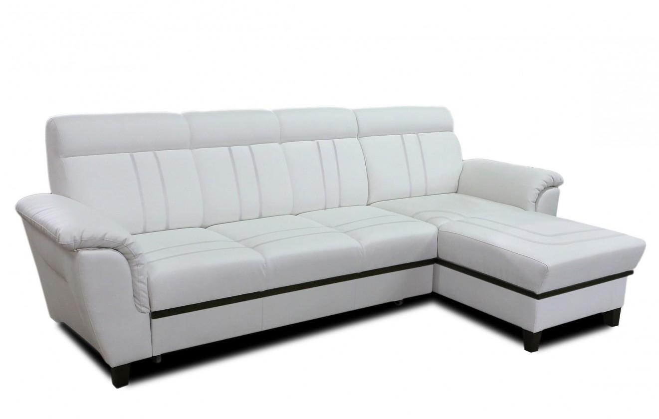 Rohová sedací souprava Rohová sedačka rozkládací Scala I pravý roh (eko kůže)