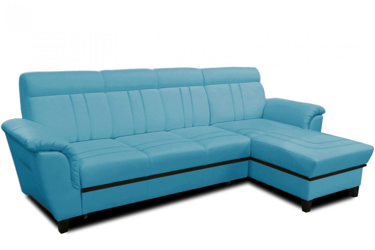 Rohová sedací souprava Rohová sedačka rozkládací Scala I pravý roh (látka)