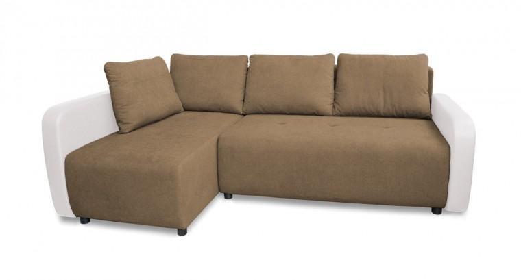 Rohová sedací souprava Rohová sedačka rozkládací Siena levý roh (korpus-madryt new 120)