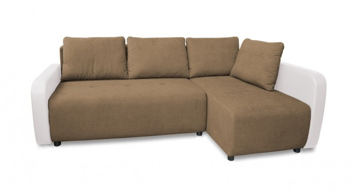 Rohová sedací souprava Rohová sedačka rozkládací Siena pravý roh (bella 9/mad. new 120)