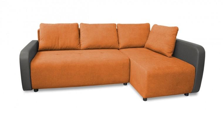 Rohová sedací souprava Rohová sedačka rozkládací Siena pravý roh (područky-bella 14)