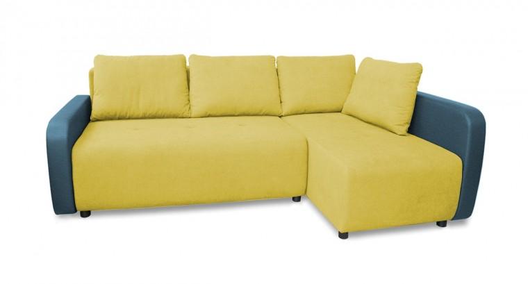 Rohová sedací souprava Rohová sedačka rozkládací Siena pravý roh (područky-bella 8)