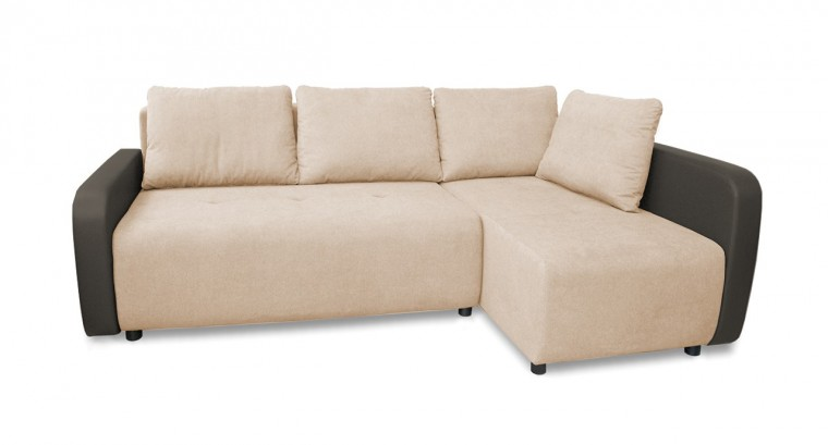 Rohová sedací souprava Rohová sedačka rozkládací Siena pravý roh (područky-mad new 195)