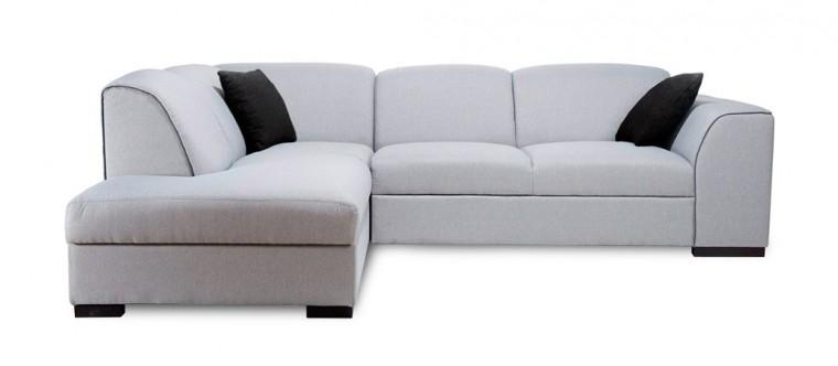 Rohová sedací souprava Rohová sedačka rozkládací West levý roh (baku 4/soft 11)